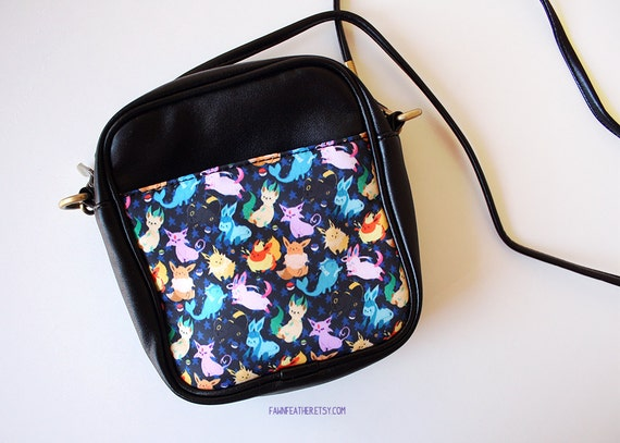 Eeveelution Leather Mini Pouch