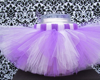 Purple & Lavender Tutu, Two Tone Tutu, Princess Tutu, Dance Tutu, Girl's Tutu, Baby Tutu, Photo Prop, Rave Tutu, Baby Tutu, Infant Tutu