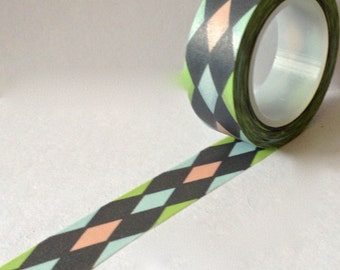 "Washi Tape ""Pastel Harlequin"" 10 Meters"