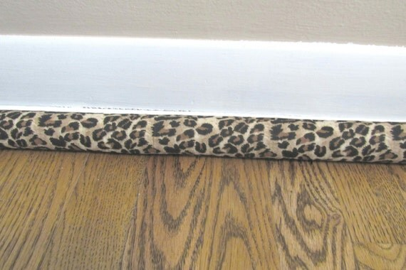 Cheetah door draft cold air blocker noise blocker for Door air blocker