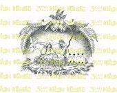 Nativity Scene Digital Stamp Instant Download