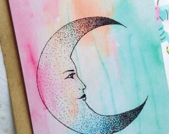Lunar Greetings Card
