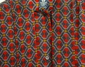 Vintage Ungaro made in Italy Parrallele shirt size 6