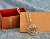 Small Gift Box, Mahogany with Curly Maple Veneer Top