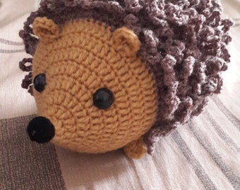 Amigurumi Crochet Hedgehog Pattern