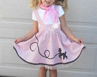 Poodle applique etsy for Poodle skirt applique template