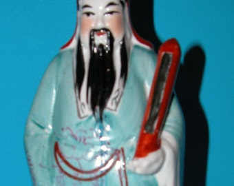 Figurine Fuk - Feng Shui God. Blessings of Good Luck, Health and Happiness