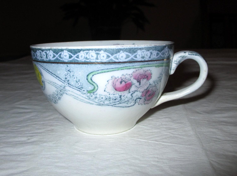 Royal Staffordshire Pottery RENOWN Cup Burslem England Hand