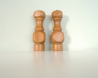 Danish Teak Salt and Pepper Pepper Mill - Vintage Scandinavian Salt Pepper Grinder 1960s Mid Century Modern