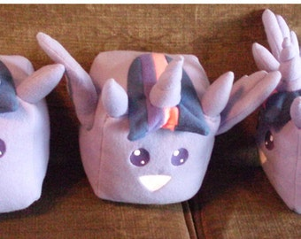 My Little Pony Twilight Sparkle Sugar Cube Plushie Princess