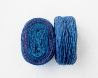 Preyarn - blue purple - one skein 50gr -1.9oz.