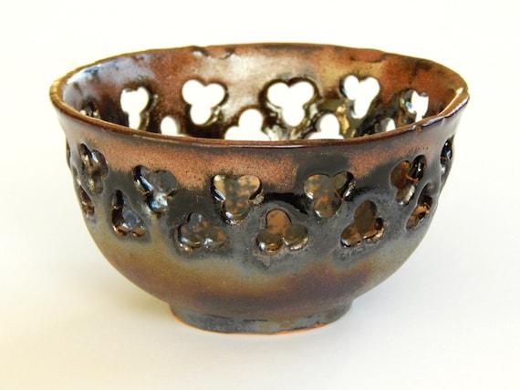 Ceramic Bowl Candle Holder Tealight Holder Decorative