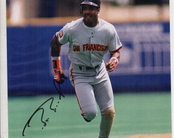 Barry Bonds Autographed 8X10 Photo Giants