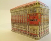 Vintage Macy's Collectible Tin