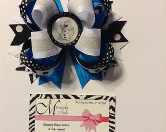 Olaf Frozen hair bow ***FREE SHIPPING***