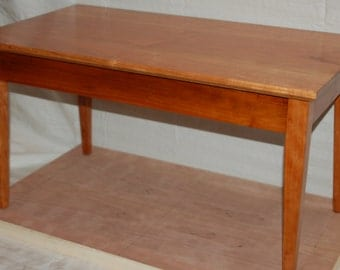 Cherry Book Table End Table Bedside Table Or Small Coffee Table