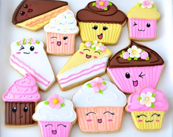 12 Vegan Kawaii Bakery Cookies