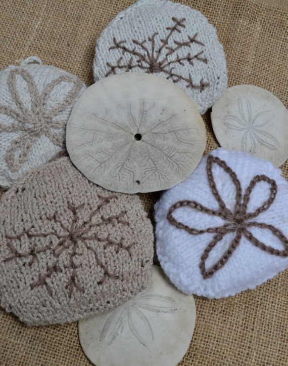 Christmas Sand Dollar Decoration Knitting Pattern from ...