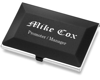 Personalized carbon fiber business card holder customized engraved business card case personalized credit card holder office employee recognition gift groomsmen colourmoves