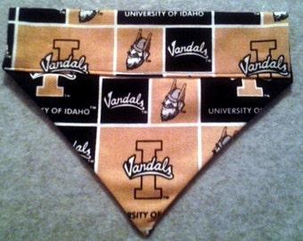 SALE! University of Idaho Vandals Dog Bandana!!