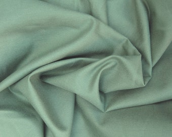 Cotton Twill 4 Way Stretch Fabric by the Yard MINT - Chino Pants Blazers