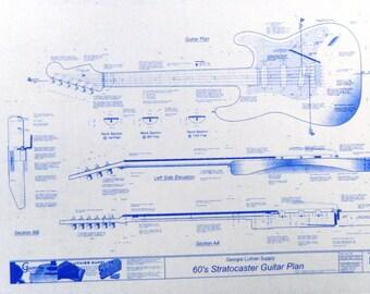 1960's Stratocaster Guitar