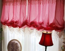 unique vintage lace valance related items etsy