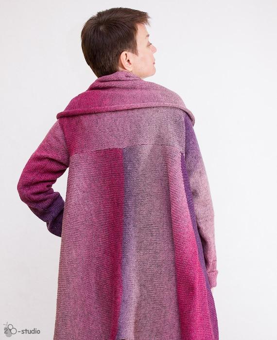 KNITTING PATTERN Women cardigan Knitting pattern Oversize cardigan Wool sweat...