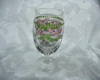Portmeirion Botanic Garden Ivy Leaved Cyclamen Iced Tea Glass