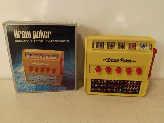Vintage Waco Draw Poker Cordless Fully Automatic With Original