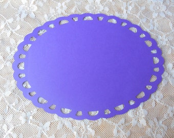 Wedding Or Party Place Mat and Doily,birthday,anniversary,place marker,table marker