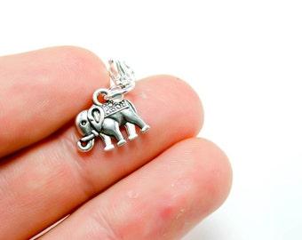 Elephant Charm. Yoga Elephant Charm. Buddha Charm Bracelet. SCC067