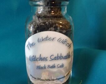 Black Bath Salts- Witches Sabbath