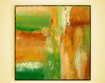 """Original Painting Abstract Style,Painting acrylic on canvas,Amazing texture,Modern Wall Art,mixed painting M.Schöneberg """"Color fields""""20x20"""