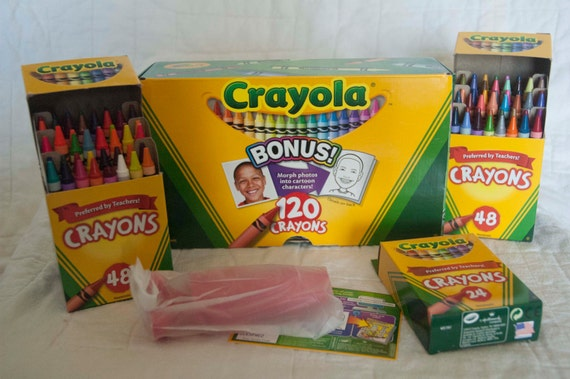 120 Pack Of Crayons