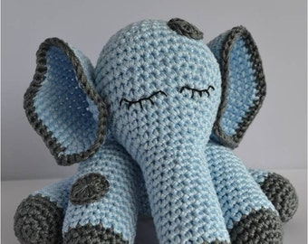 Dutch crochet pattern elephant
