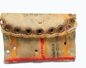Vintage Baseball Glove Leather Wallet