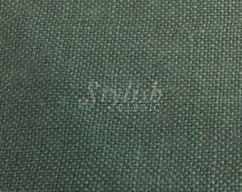 "Hunter Green  Burlap Fabric by the Yard 40"" Wide - 1 Yard Style 7202"
