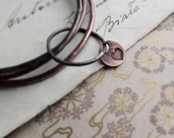 cuff bracelet, stacking hoops, hoop bracelet, COPPER Bracelets, raw, simple hammer, rustic style
