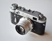 Vintage FED 2 Camera / Vintage Ussr Camera