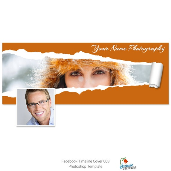 Facebook Timeline Cover Photoshop Template 003