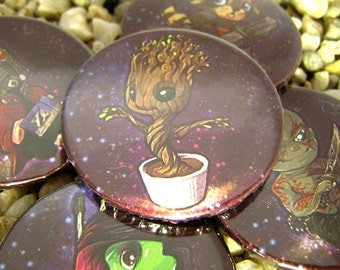 Guardians of the Galaxy Buttons