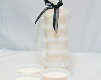 Rose Scented~5-pack Single Soy Wax Melts