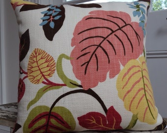 Warwick Upholstery fabric cushion cover/pillow 50cm Autumn Leaves