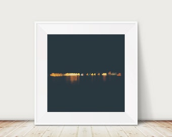 love heart photograph night photograph san diego photograph pacific ocean photograph california photograph gold home decor