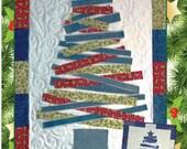 PATTERN- Jean Christmas Tree Wall Hanging