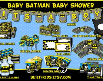 batman baby shower theme invites to beds and everything in between by