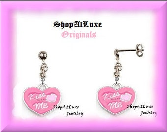 Kiss Me Earrings - Original Design By ShopAtLuxe