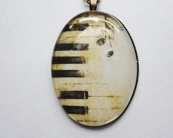 Necklace Piano keys