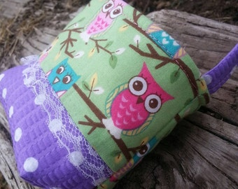 Baby's First Purse, Owl Toddler Purse, Little Girl's Purse